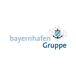 Logo bayernhafen Gruppe