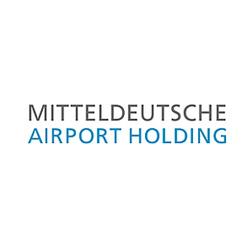 Logo Mitteldeutsche Airport Holding